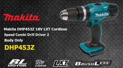 Toptopdeal Makita DHP453Z 18V LXT Cordless 2 Speed Combi Drill Driver