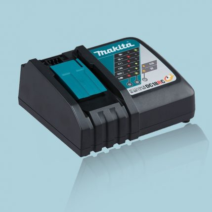 Toptopdeal Makita DC18RC 14.4-18V Li-Ion Fast Battery Charger Black 240V-2