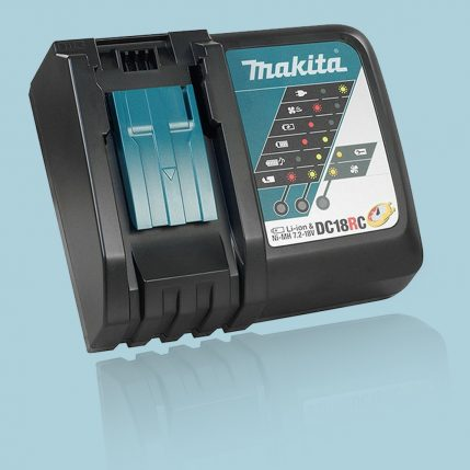 Toptopdeal Makita DC18RC 14.4-18V Li-Ion Fast Battery Charger Black 240V-3