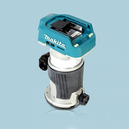 Toptopdeal Makita DRT50ZX4 18V LXT 1/4″ BRUSHLESS CORDLESS ROUTER BODY ONLY INC TRIMMER GUIDE 1