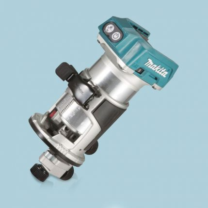 Toptopdeal Makita DRT50ZX4 18V LXT 1/4″ BRUSHLESS CORDLESS ROUTER BODY ONLY INC TRIMMER GUIDE