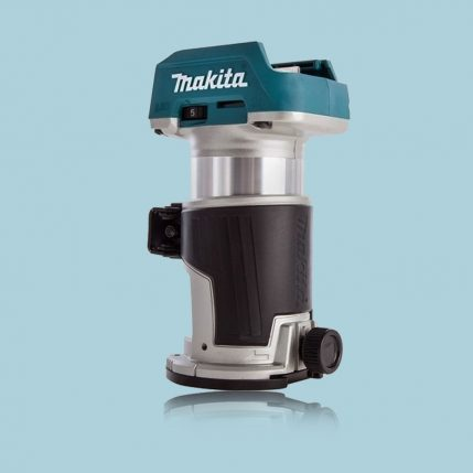Toptopdeal Makita Drt50zx4 18v Lxt 1 4 Brushless Cordless Router Body Only Inc Trimmer Guide