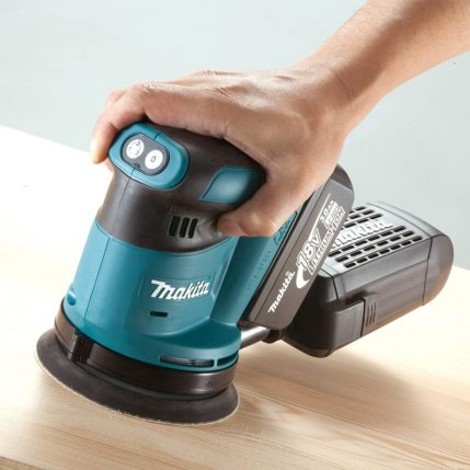 Toptopdeal Makita DBO180z 18v Li ion Random Orbit Sander Body Only 4