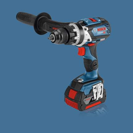 Toptopdeal Bosch 18V Li-Ion Combi Drill & Impact Driver Twin Kit With 2 X 5.0Ah Batteries & Charger I 1