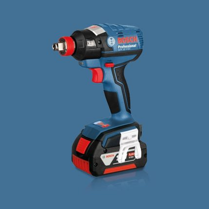 Toptopdeal Bosch 18V Li-Ion Combi Drill & Impact Driver Twin Kit With 2 X 5.0Ah Batteries & Charger I