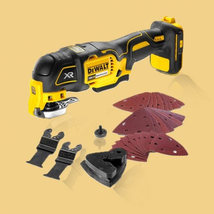 Toptopdeal DeWalt DCS355N 18V Li-Ion Cordless Brushless Oscillating Multi-Tool Body Only 3