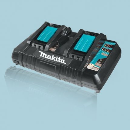 Makita DC18RD 14 -18V LXT Li-Ion Twin Port Rapid Battery Charger 240V-3