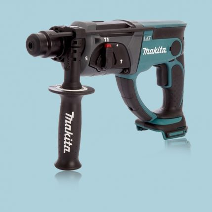 Toptopdeal Makita DLX2025M 18V Combi Drill + SDS Drill Twin Pack With 2 X 4.0Ah Batteries & Charger In Bag