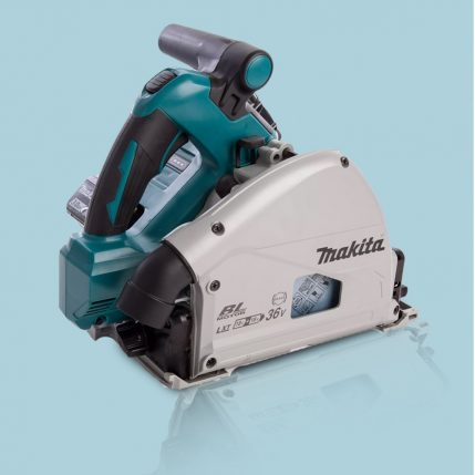 Toptopdeal Makita DSP600ZJ 36V LXT Brushless 165mm Plunge Saw Body With Makpac Case 2