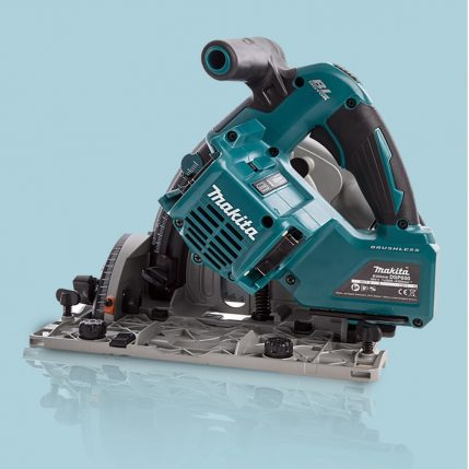 Toptopdeal Makita DSP600ZJ 36V LXT Brushless 165mm Plunge Saw Body With Makpac Case 4