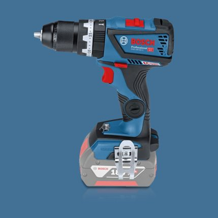 Toptopdeal Bosch 18V Li-ion Bluetooth Combi Drill & Impact Driver Twin Kit with 2 x 5.0Ah Batteries & Charger in Case 2