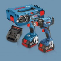 Toptopdeal-Bosch GSB 18V-28 Combi Drill & GDX 18V-180 Impact Driver Twin Pack 2 X PRCore 4 Ah In L-BOXX 0