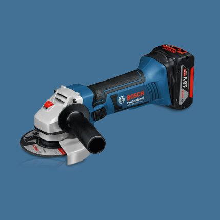 Toptopdeal Bosch GWS18 V-LI 18V Angle Grinder Body Only With L-BOXX 060193A304 1