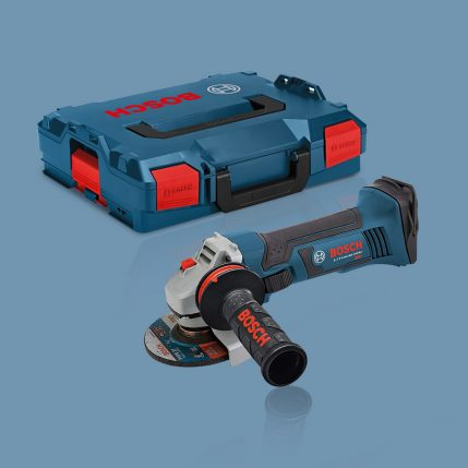 Toptopdeal Bosch GWS18 V LI 18V Angle Grinder Body Only With L BOXX 060193A304