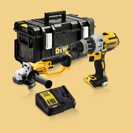 Toptopdeal-DeWalt DCK278P2 18V Twin Kit With 2 X 5 Ah Batteries & Charger In Toughsystem Kit Box