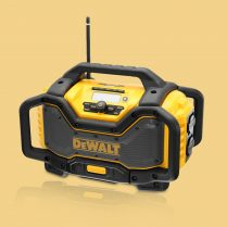 Toptopdeal Dewalt DCR027 240v XR Flexvolt DAB Bluetooth Digital Radio Charger