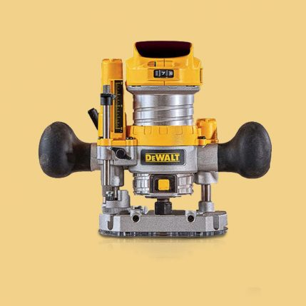 Toptopdeal DeWalt DCW604NT-XJ 18V Li-Ion Cordless Brushless Router Trimmer Body Only 1