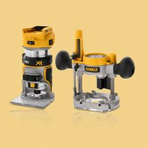 Toptopdeal Dewalt dcw604nt xj 18v li ion cordless brushless router trimmer body only
