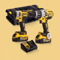 Toptopdeal-Dewalt DCK276P2 18V Brushless Twin Kit With 2 X 5 Ah Batteries & Charger In Toughsystem Box