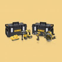 Toptopdeal-Dewalt DCK357T2 54V Brushless Triple Kit With 2 X 6 Ah Batteries & Charger In 2 X Toughsystem