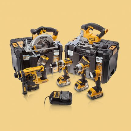 Toptopdeal-Dewalt DCK699M3T 18V 6 Piece Kit 3 X 4 Ah Batteries With Charger & 2 X Tstak Kitboxes