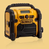Toptopdeal Dewalt DCR020 XR 240v Compact DAB Radio for 10 8v 18v Batteries