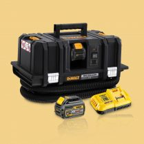 Toptopdeal Dewalt DCV586MT2 GB 54V XR Flexvolt M Class Dust Extractor With 2 X 6 Ah Batteries & Charger