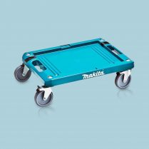 Toptopdeal-Makita 4 Wheeled MakPac Base Dolly Trolley Plastic Lightweight P-83886