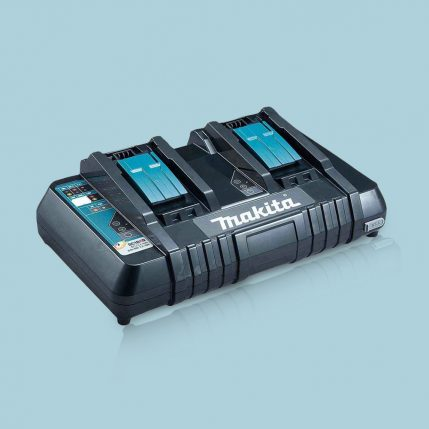 Toptopdeal Makita DC18RD 14.4-18V LXT Li-Ion Twin Port Rapid Battery Charger 240V