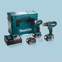 Toptopdeal-Makita-DLX2131MJ1-18v-Twin-Pack-Combi-Drill-&-Impact-Driver-With-3-X-4-Ah-Batteries-&-Char
