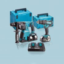 Toptopdeal-Makita-DLX2137PMJ-18V-Combi-&-SDS-Hammer-Twin-Pack-4-X-4-0Ah-Batteries