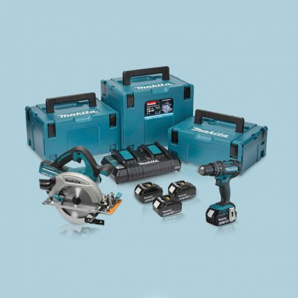 Toptopdeal-Makita-DLX2140PMJ-18V-Combi-&-Circular-Saw-Twin-Pack-4-X-4Ah-Batteries