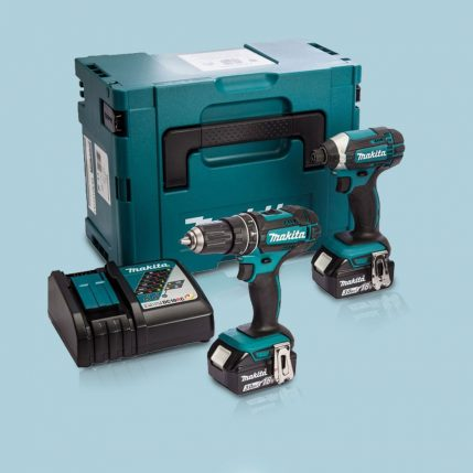 Toptopdeal-Makita-DLX2145TJ-18V-LXT-Twin-Pack-With-2-X-5-0Ah-Batteries-&-Charger-In-Case