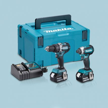 Toptopdeal-Makita-DLX2180TJ-18V-LXT-2-Piece-Brushless-Kit-2-X-5-0Ah-Batteries-&-Charger-In-Case
