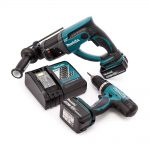 Toptopdeal-co-uk Makita DLX2025M 18 V Li-Ion LXT Combo Kit Complete With 2 X 4 0 Ah Li-Ion Batteries And Charger In A Heavy Duty Carry Bag 2