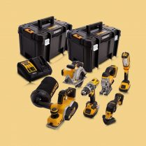 toptopdeal Dewalt DCK665P3T 18V 6 Piece Kit 3 X 5-0Ah Batteries With Charger & 2 X Tstak Kitboxes