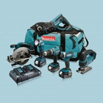 toptopdeal Makita DLX6068PT 18V LXT 6 Piece Kit 3 X 5 0Ah Batteries With Twin Port Charger