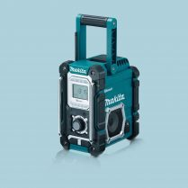 toptopdeal Makita DMR106 Jobsite Radio With Bluetooth And USB Charger Blue