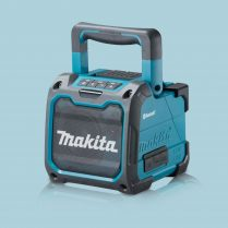 toptopdeal Makita DMR200 10 8 18V Job Site Speaker With Bluetooth Body Only