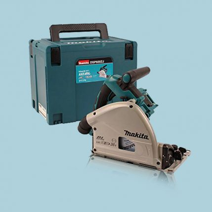 toptopdeal Makita DSP600ZJ 36V LXT Brushless 165mm Plunge Saw Body With Makpac Case