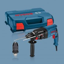 Toptopdeal Bosch GBH 2 28 F SDS Plus Rotary Hammer + Quick Change Chuck In L Boxx Kit 240V 0611267671