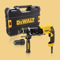 Toptopdeal DeWalt D25134K 110V SDS 3 Mode Hammer With Quick Change Chuck In Case