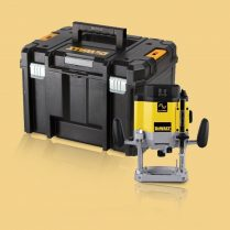 Toptopdeal-DeWalt DW625EKTL 110V 2000W 1 4 & 1 2in Double Collet Router With Case