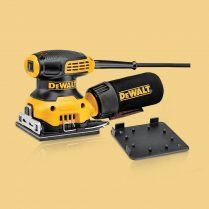 Toptopdeal DeWalt DWE6411 115mm 1 4 Orbital Palm Sheet Grip Sander 230W 230V