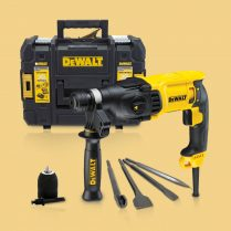 Toptopdeal Dewalt D25133K SDS 3 Mode Rotary Hammer With Extra Accessories 240V