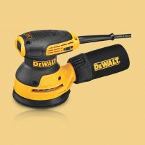 Toptopdeal Dewalt DWE6423L 110V 125mm Hook & Loop Random Orbit Plam Sander 280W