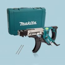 Toptopdeal Makita 6844 110V 75mm Auto Feed Screwdriver With Carry Case