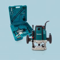 Toptopdeal Makita RP2301FCXK 240V 1 2 Variable Speed Plunge Router In Carry Case