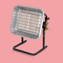 Toptopdeal-Sealey LP14 Space Warmer Propane Heater With Stand 10 250-15 354Btu Hr