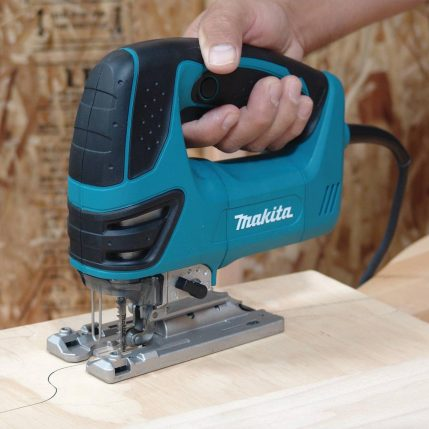 toptopdeal Makita 4350FCT Orbital Action Jigsaw 110V With Free 5 Jigsaw Blades 2